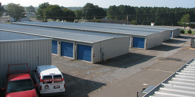 Commercial Vehicle Storage in Mooresville, North Carolina
